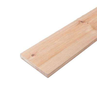 1 in. x 8 in. x 8 ft. Pressure-Treated Cedar-Tone Board