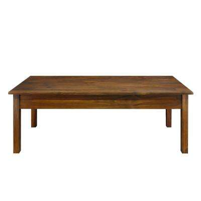 Kennedy Coffee Table with Concealed Drawer