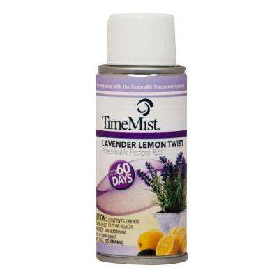 3 oz. Lavender Lemon Twist Automatic Air Freshener Spray Refill (2-Pack) (Case of 6)