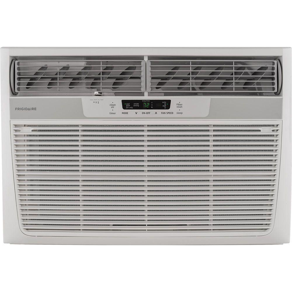 28,000 BTU 230-Volt Window-Mounted Heavy-Duty Air Conditioner with Temperature