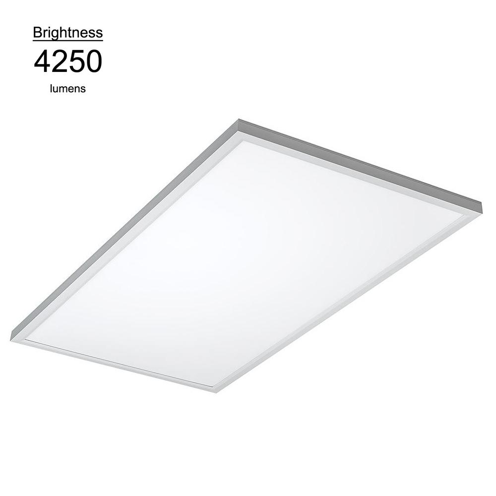 4 Light White Cloud Fixture Fluorescent Steel Ceiling