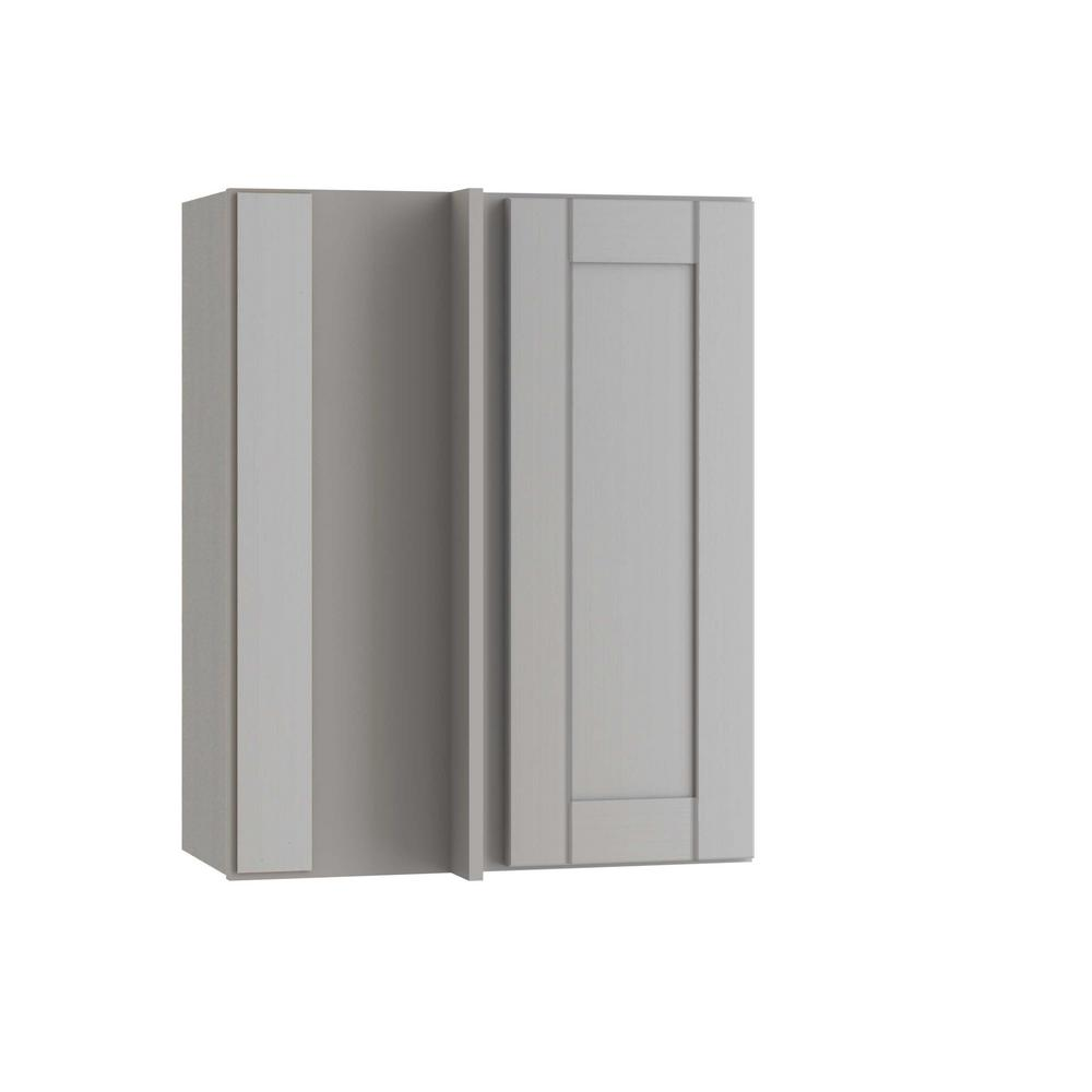 Contractor Express Cabinets Veiled Gray Shaker Assembled ...