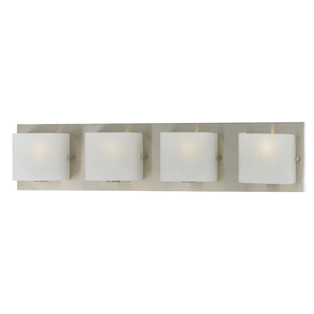 Talo Collection 4-Light Satin Nickel Bath Bar Light-19426-020 - The ...