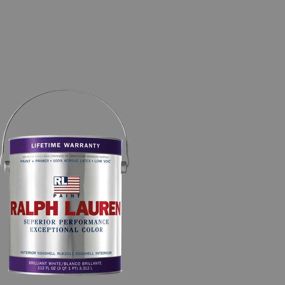 Ralph Lauren 1-gal. Gray Coat Eggshell Interior Paint