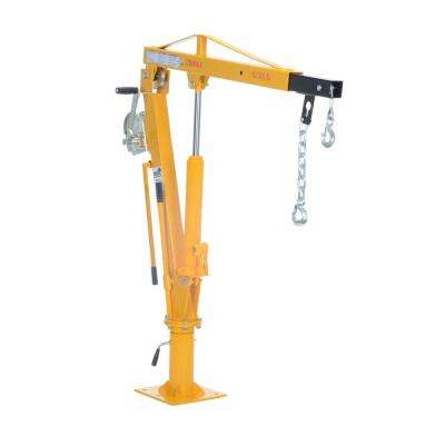 1,000 lb. Extended Capacity Winch Operated Truck Jib Crane