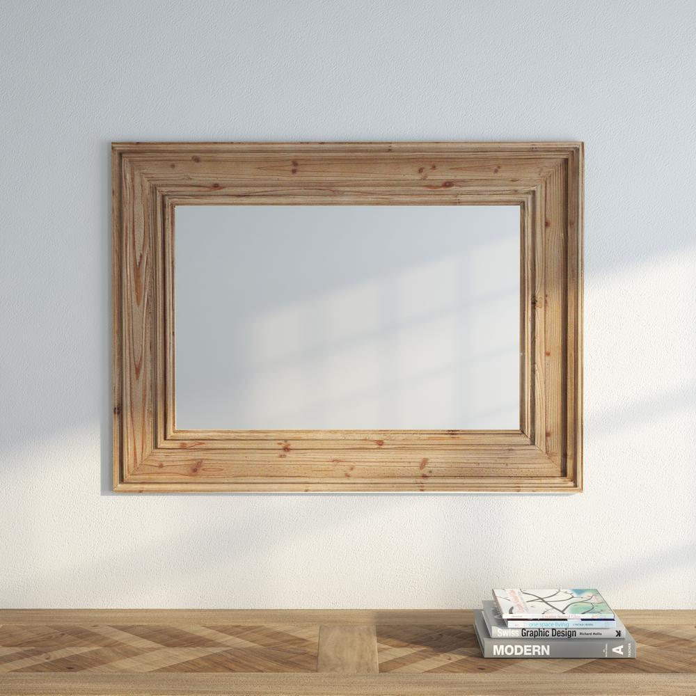 Home decorators collection dawn 39 in h x 29 in w wall mirror in natural 1304800950 the home Home decorators collection mirrors
