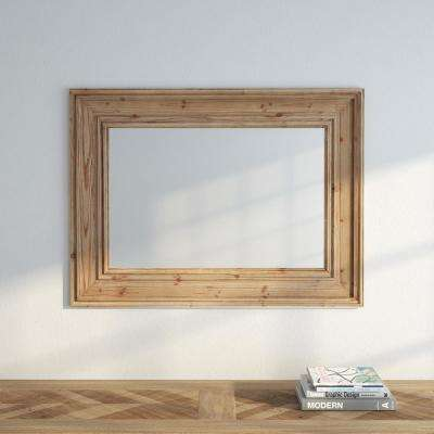 Dawn 39 in. H x 29 in. W Wall Mirror in Natural