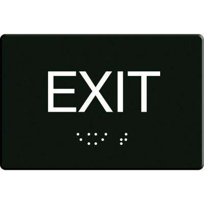 6 in. x 9 in. Adhesive Exit Sign