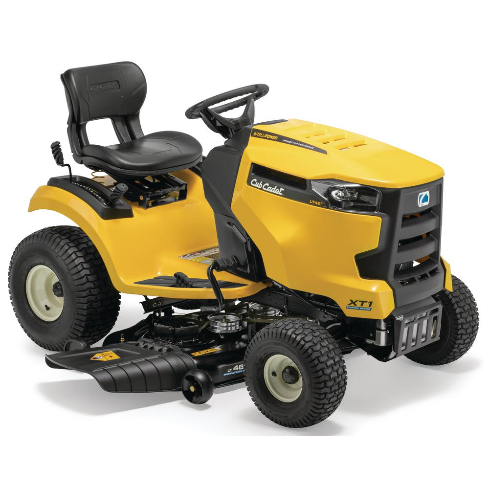 Cub Cadet XT1 Enduro Series LT 46 in  547 cc Engine with IntelliPower  Technology Hydrostatic Gas Front-Engine Riding Lawn Tractor