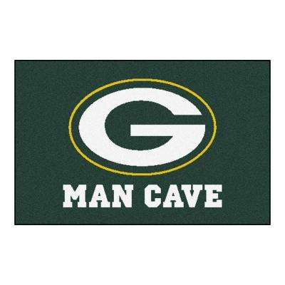 44c411b95b2 NFL Green Bay Packers Green Man Cave 2 ft. x 3 ft. Area Rug