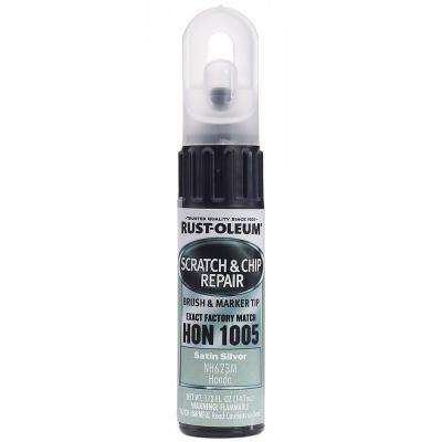 0.5 oz. Satin Silver Scratch and Chip Repair Marker (6-Pack)