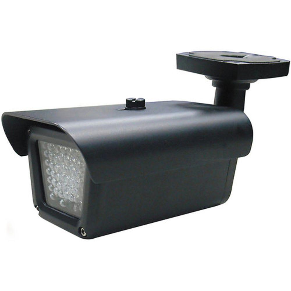 SPT Indoor and Outdoor 80-Degree Infrared LED Illuminator with 147 ft  IR  Range