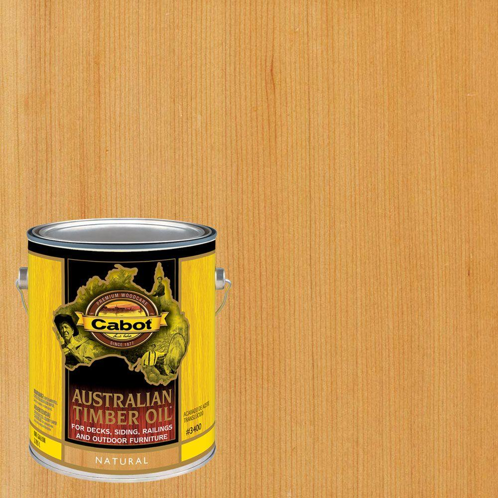 1 gal. Natural Australian Timber Oil Exterior Wood Finish