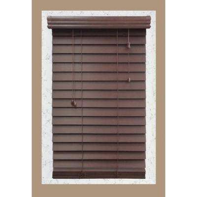 Cut-to-Width Brexley 2-1/2 in. Wood Blind
