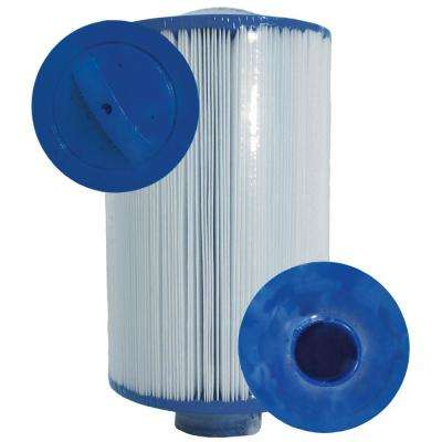 CH Series 20 sq. ft. 4-5/8 in. x 7-1/4 in. Injection Molded 1-1/2 in. SAE Bottom Thread Replacement Cartridge