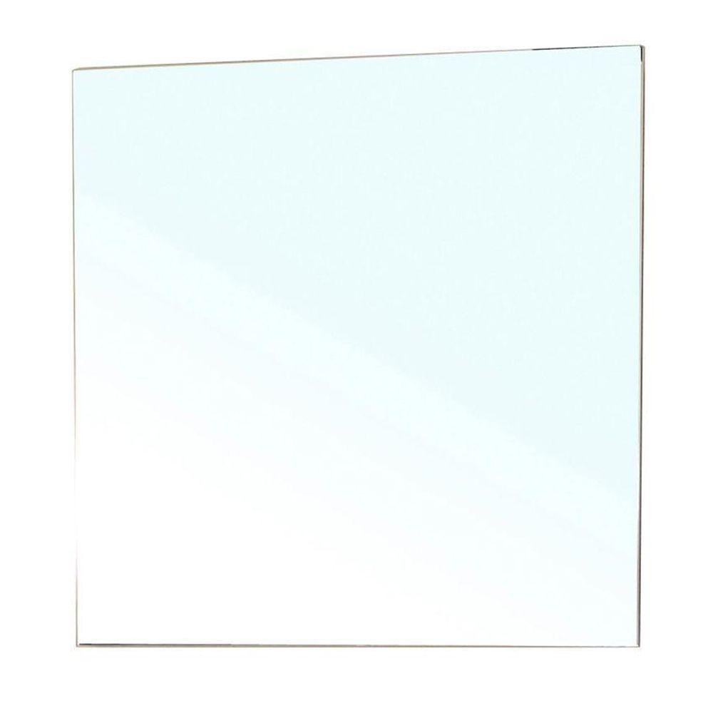 Bellaterra Home Summerlin 28 in. L x 29 in. W Frameless Wall Mirror