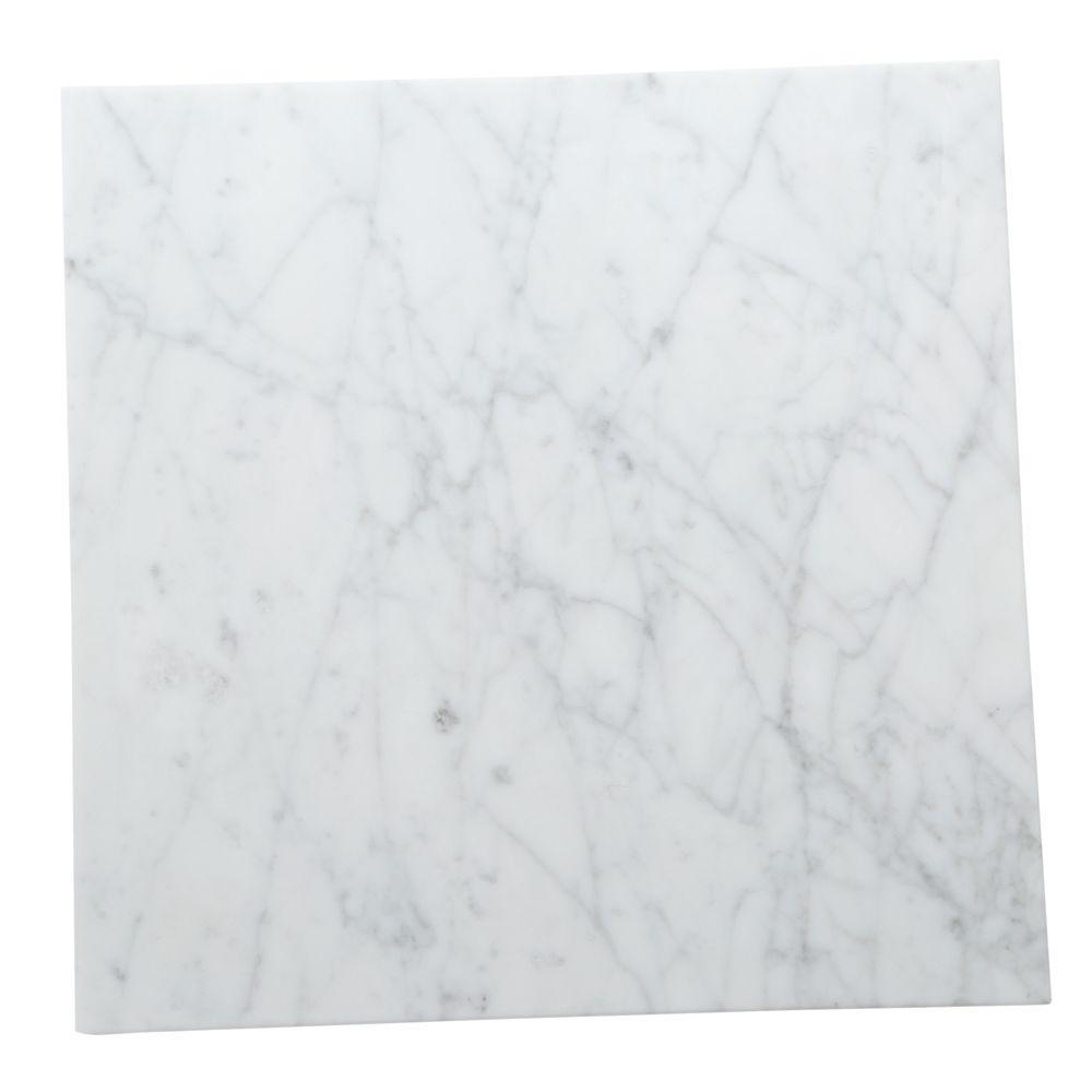 Daltile Natural Stone Collection Carrara Gioia 12 in. x 12 in ...