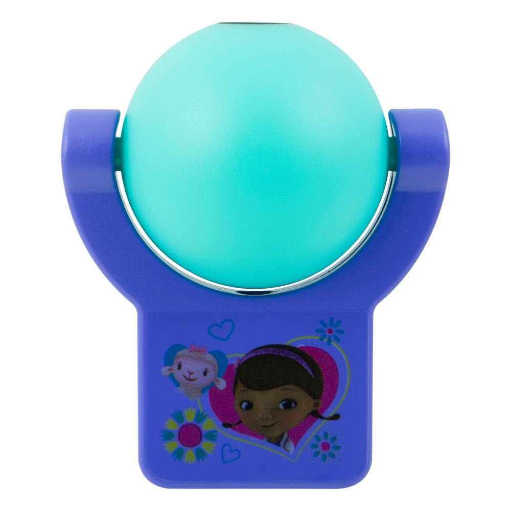 Disney Doc McStuffins Light Sensing Projectable LED Night Light