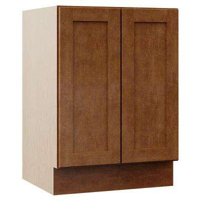 Stirling 24 in. W x 21.5 in. D x 33.5 in. H Bath Vanity Cabinet Only in Almond
