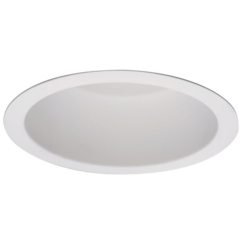 PD 6 in. Commercial Vertical Parabolic Reflector with White Recessed Ceiling