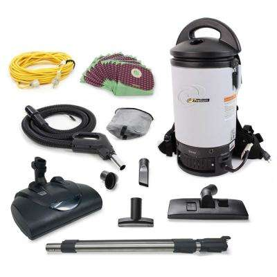 Sierra Commercial Backpack Vacuum with Wessel Werk Head