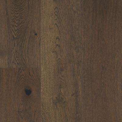 Take Home Sample - Khaki Brown Oak Waterproof Engineered Hardwood Flooring - 5 in. x 7 in.