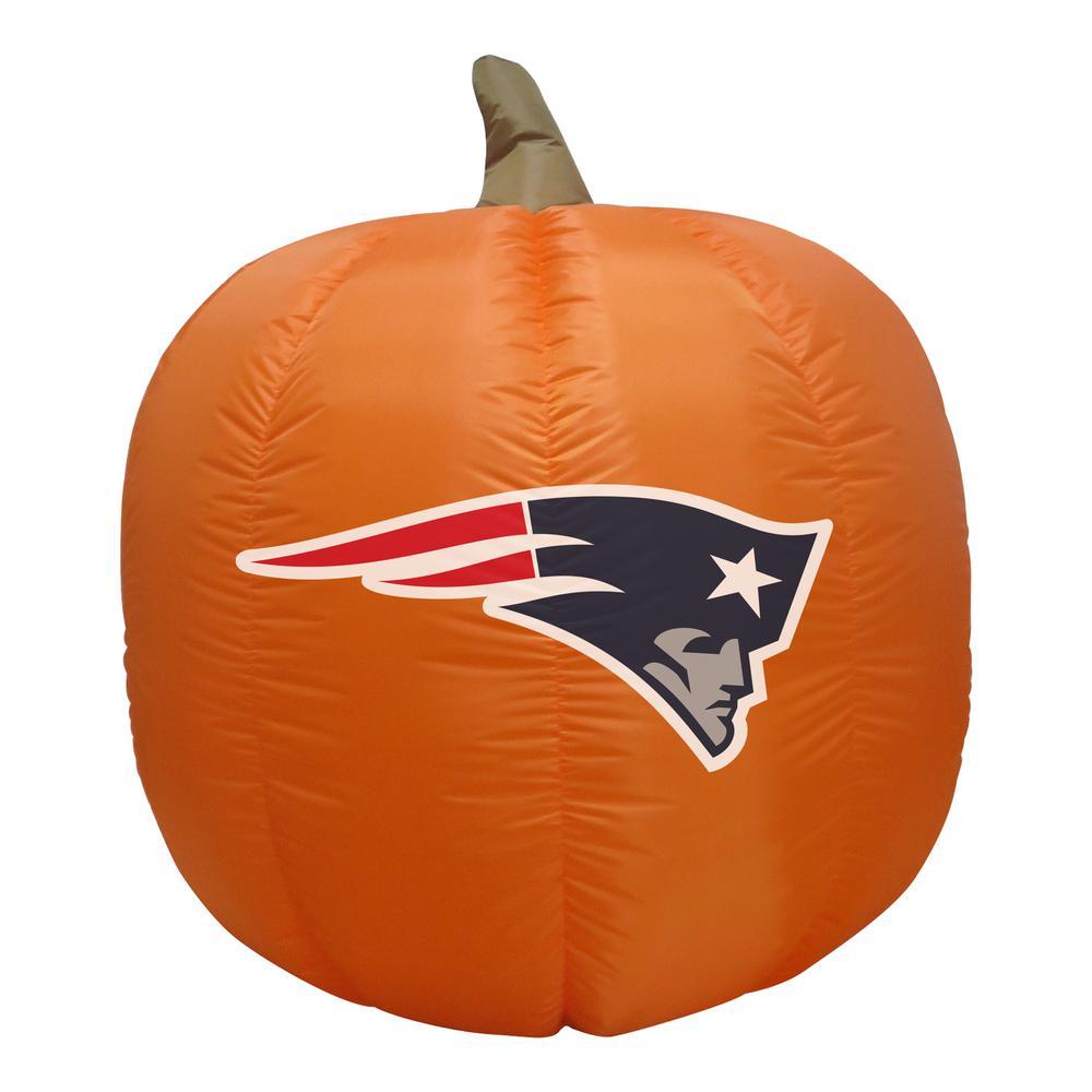 NFL 4 ft. New England Patriots Inflatable Pumpkin