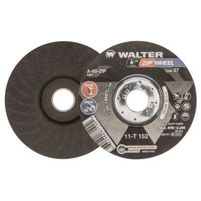 Zip Wheel 5 in. x 7/8 in. Arbor x 3/64 in. Highest Performing Cut-Off Wheel (25-Pack)