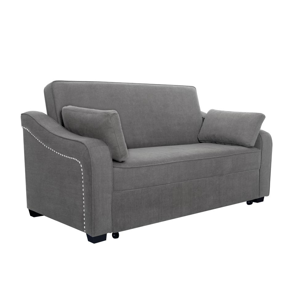 Outstanding Serta Harrington Grey Queen Sized Pullout Sofa Harrington Caraccident5 Cool Chair Designs And Ideas Caraccident5Info