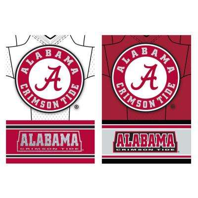 2.4 ft. x 3.5 ft. University of Alabama Two-Sided Jersey House Flag
