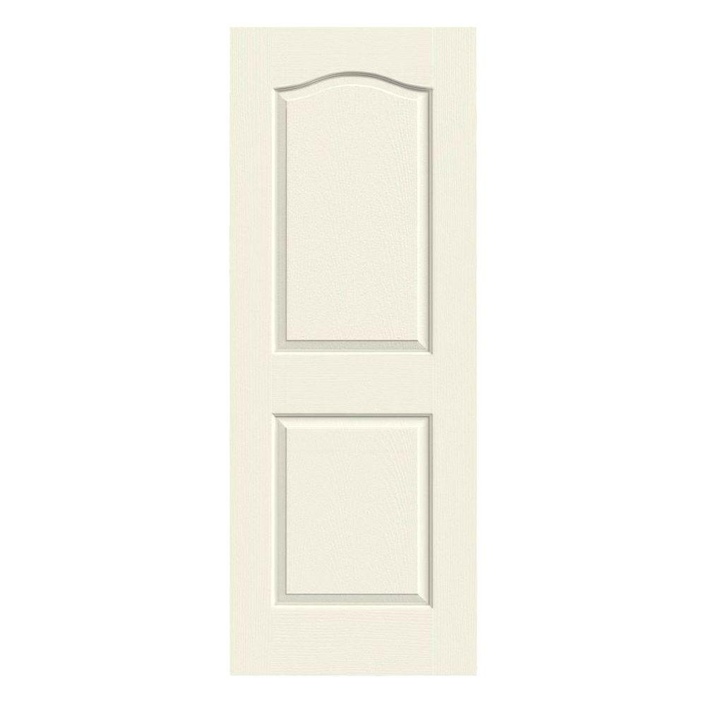 jeld wen 30 in x 80 in camden vanilla painted textured molded composite mdf interior door slab. Black Bedroom Furniture Sets. Home Design Ideas