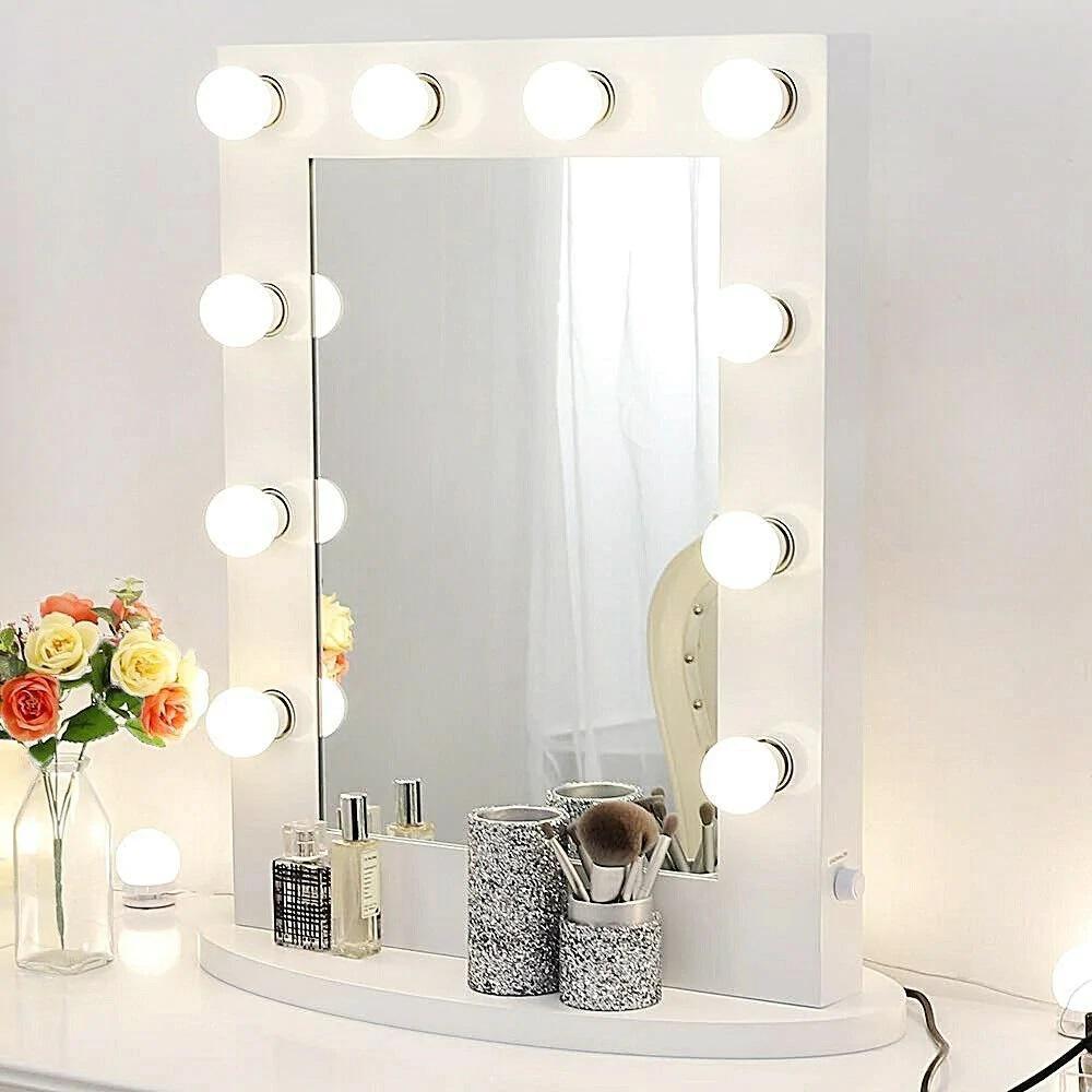 Vanity White Led Lighting Mirror