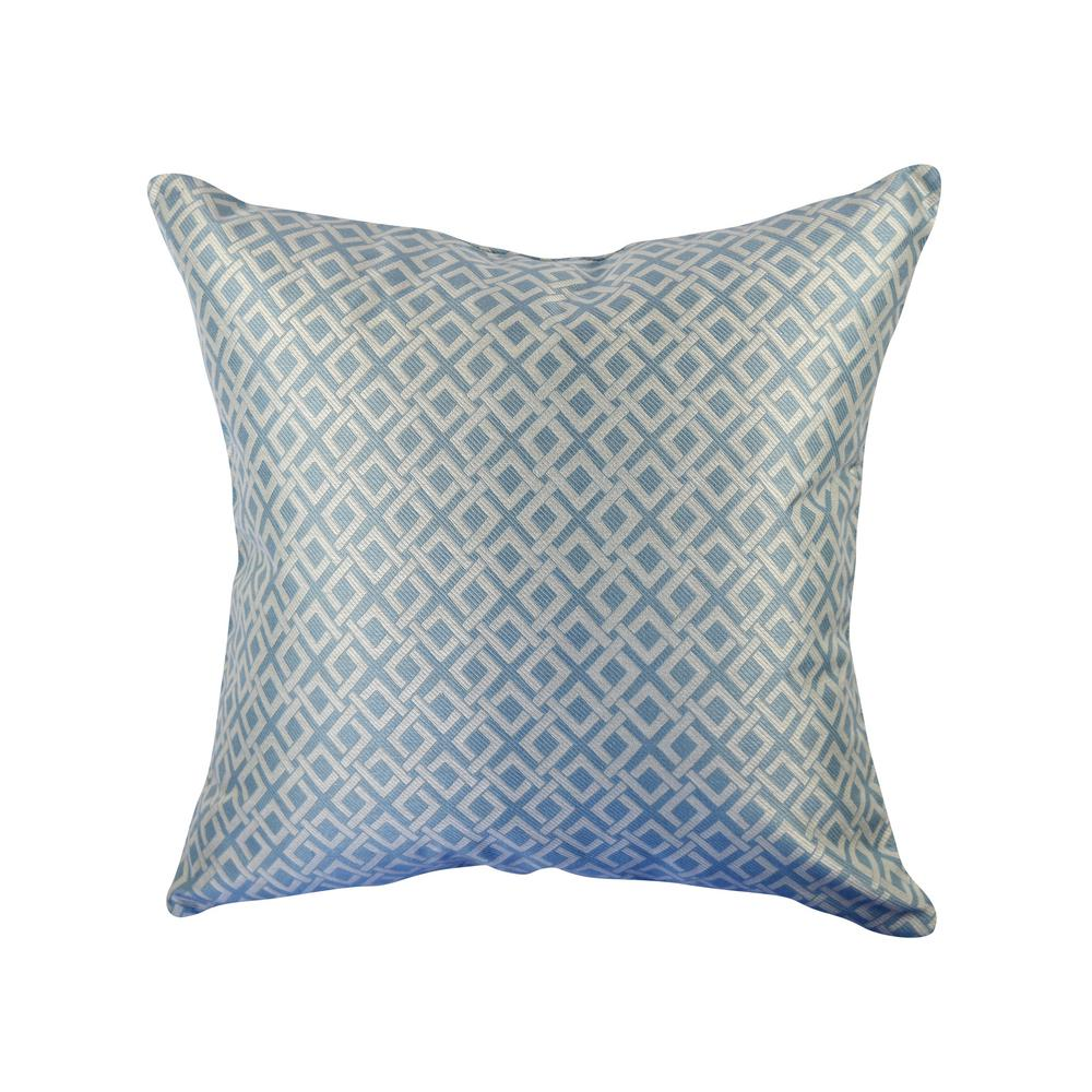 Vesper Lane Light Blue Geometric Woven Throw Pillow-SP01LBZ20I - The ... dff77e37e