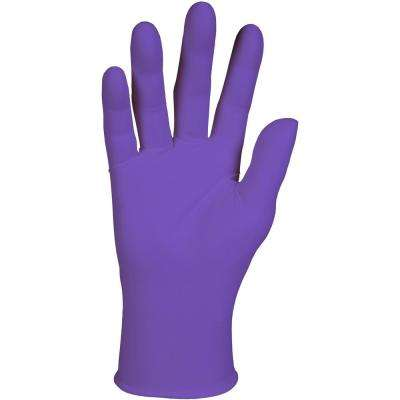 Purple Powder Free Nitrile Exam Gloves (50-Pairs)