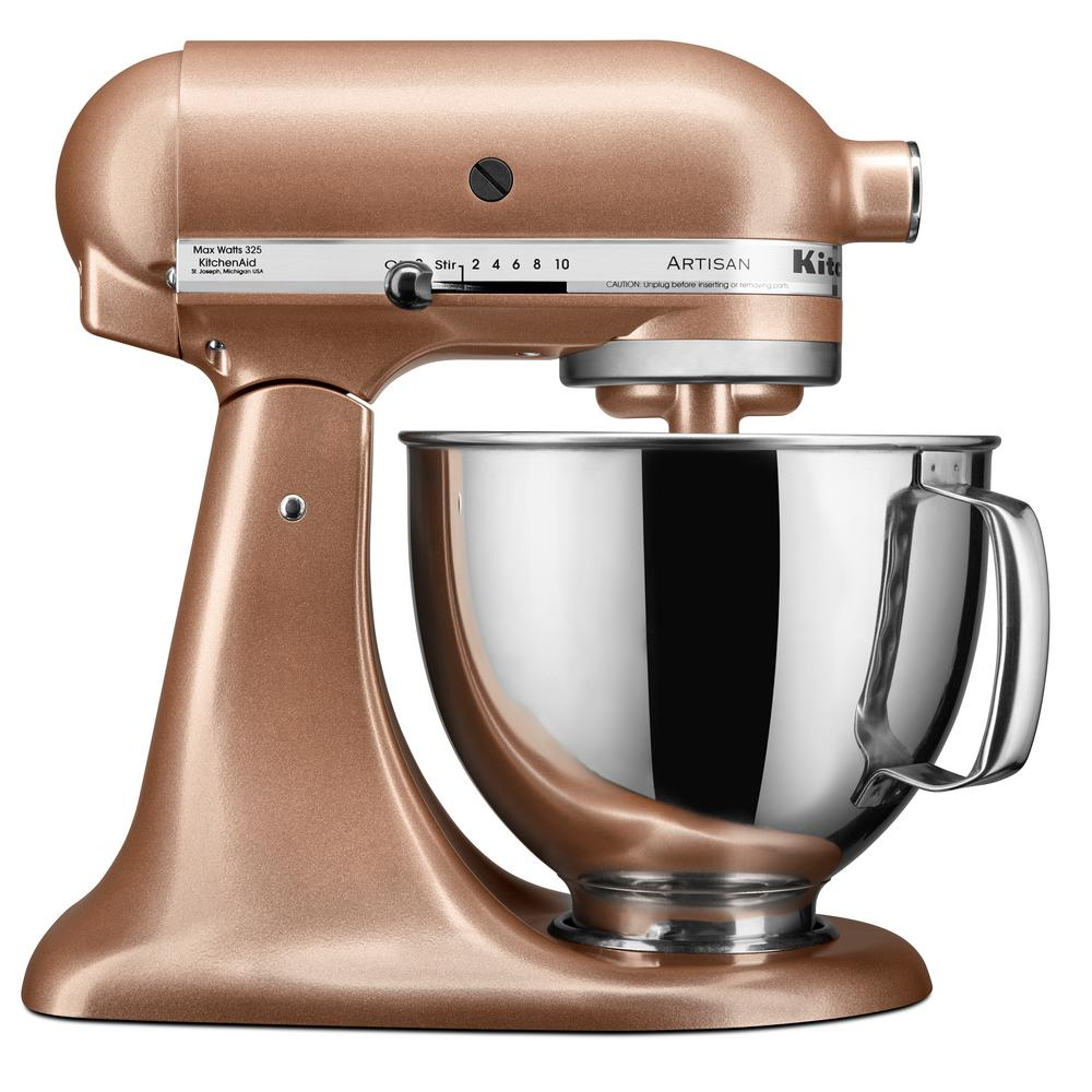 Kitchenaid Artisan 5 Qt 10 Speed Toffee Delight Stand Mixer With
