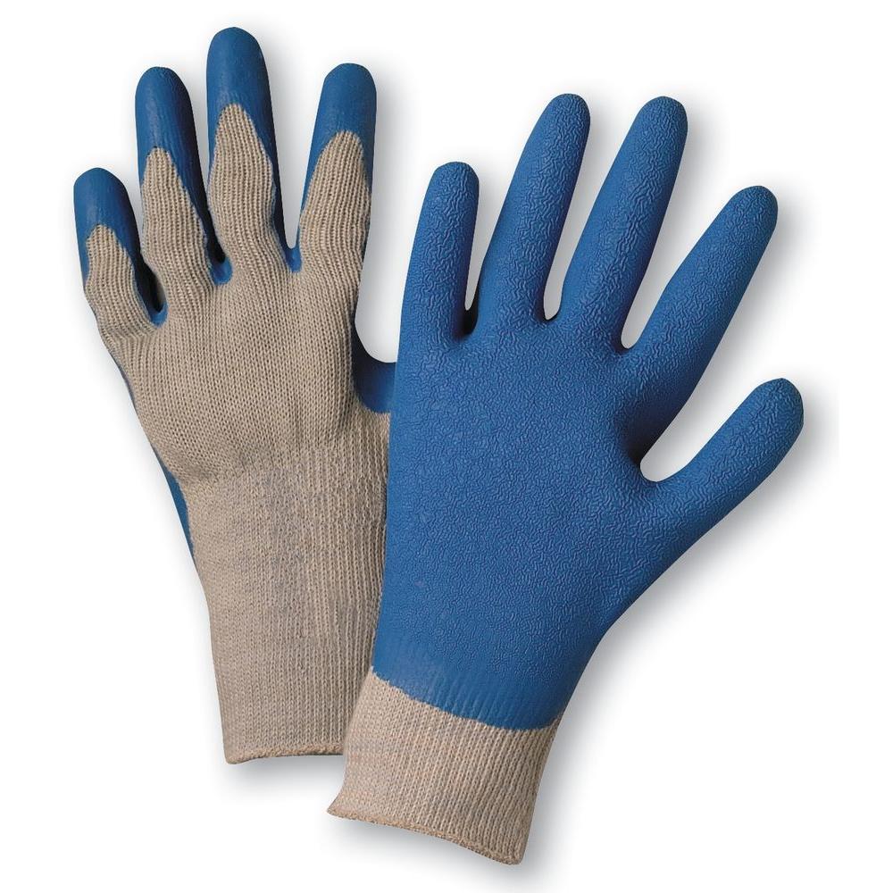 Premium Latex Palm-Coated Knit Dozen Pair Gloves