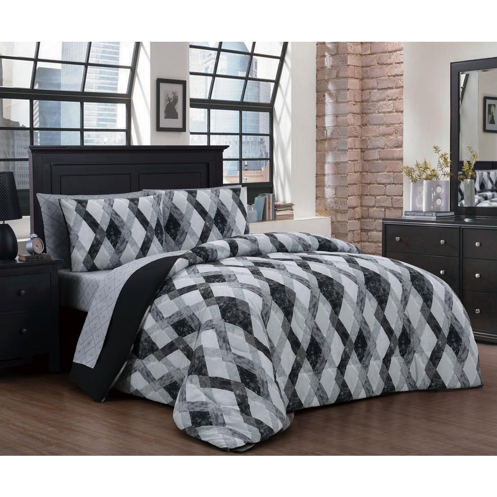 Azra 8-Piece Queen Bed in a Bag