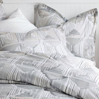 Silhouette 200-Thread Count Organic Cotton Percale Duvet Cover Set