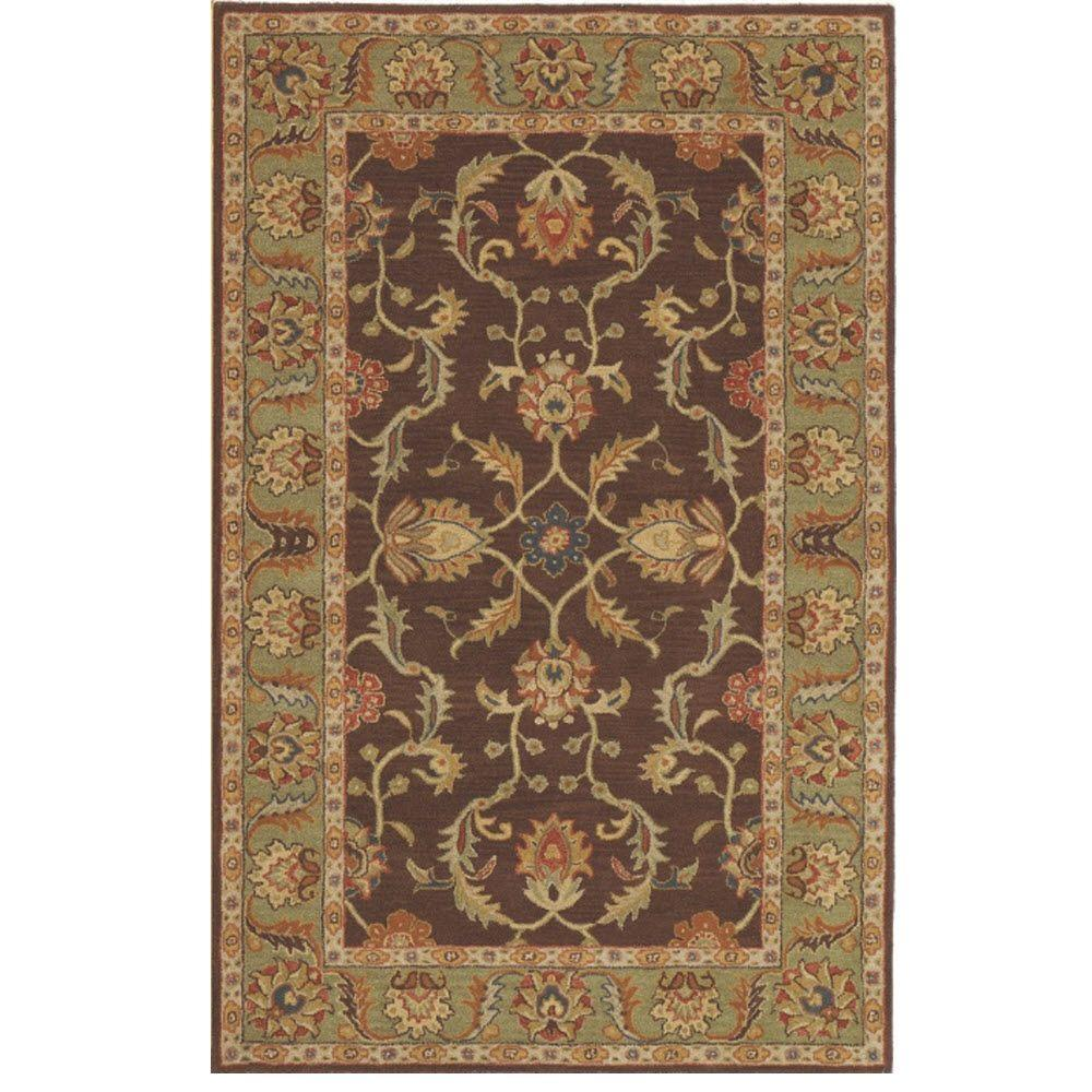 Home decorators collection aristocrat rust red 4 ft x 6 for Home decorators catalog rugs