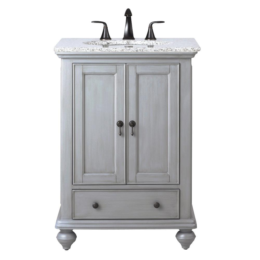 Home Decorators Collection Newport 25 in. W x 21-1/2 in. D ...