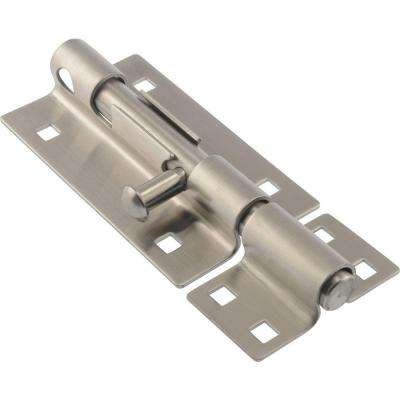 5 in. Stainless Steel Extra Heavy Gate Barrel Bolt (2-Pack)