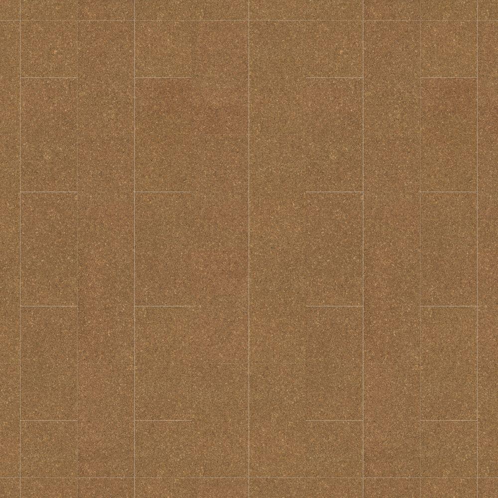 10 ft. Wide x Your Choice Length Natural Cork Plank Vinyl Universal Flooring