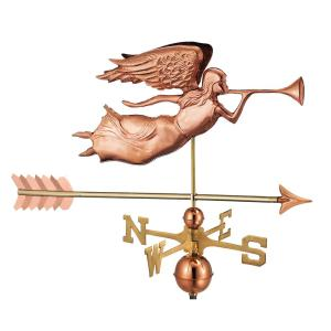 Good Directions Angel with Arrow Weathervane-Pure Copper by Good Directions