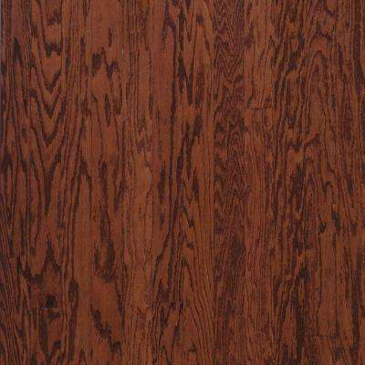 Oak Cherry 3/8 in. Thick x 3 in. Wide x Varying Length Engineered Hardwood Flooring (30 sq. ft. / case)