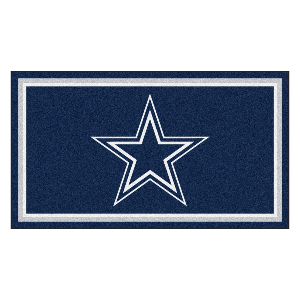 NFL - Dallas Cowboys 3 ft. x 5 ft. Ultra Plush Area Rug