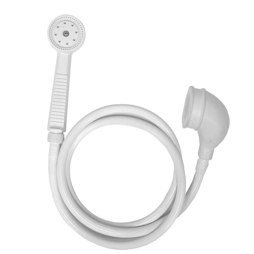 Danco Versa 1-Spray Portable Handshower in White by DANCO