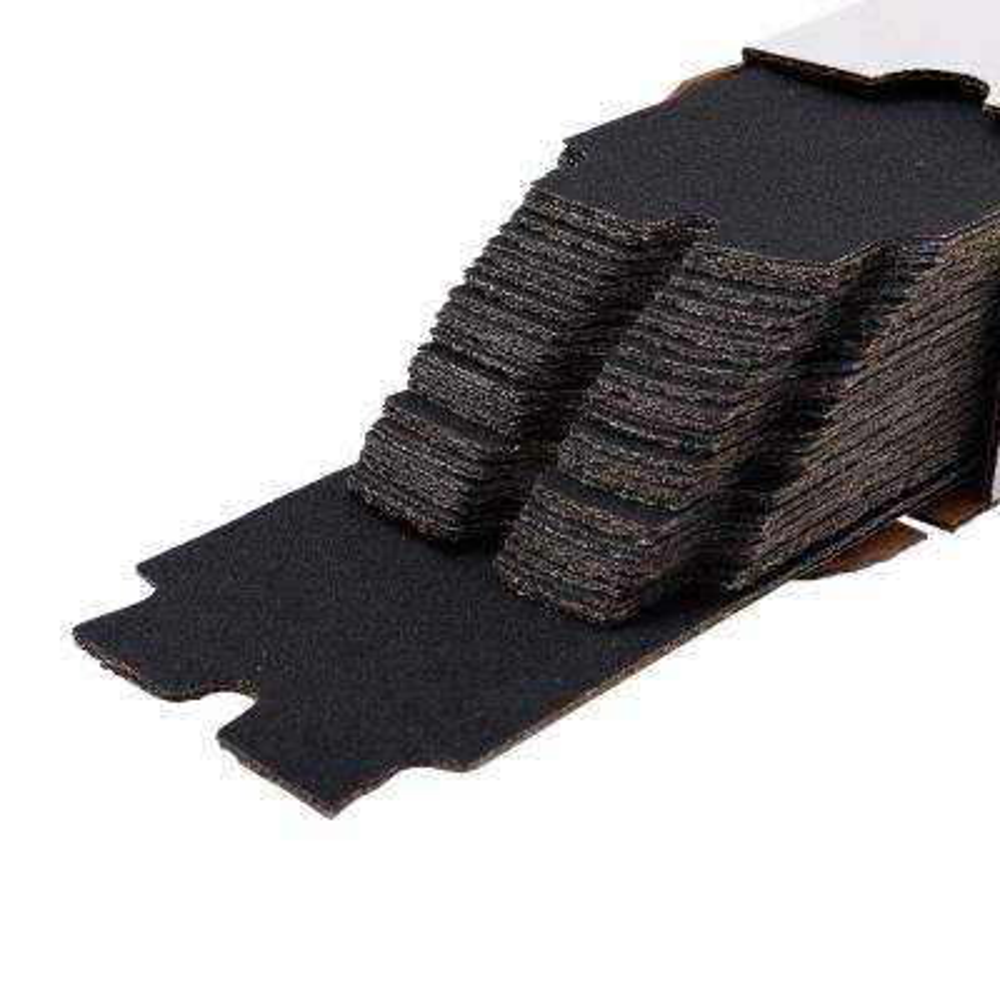 Long Tab 4-3/16 in. x 11-5/16 in. 100-Grit Drywall Sanding Sheets (100-Pack)