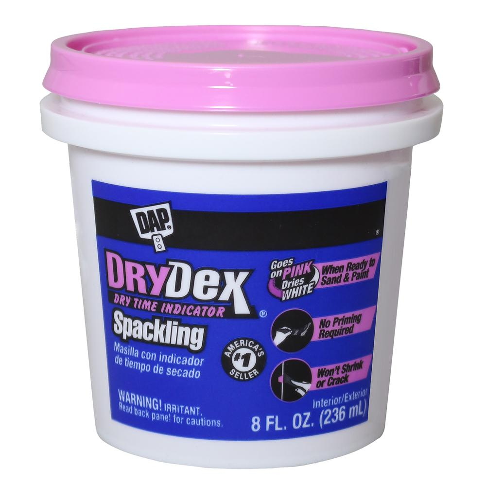 DryDex 8 oz. Dry Time Indicator Spackling Paste (12-Pack)