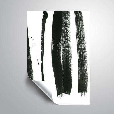'Black on white 3'  Removable Wall Mural