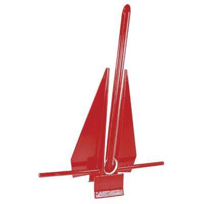 PVC Coated Slip-Ring Anchor, Red